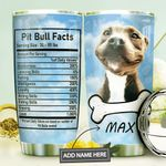 Pit Bull Facts Personalized MDA1410056 Stainless Steel Tumbler