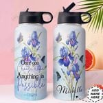 Faith Personalized HHE2809009 Stainless Steel Bottle With Straw Lid