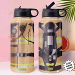 Firefighter Uniform KD4 Personalized HHA1510002 Stainless Steel Bottle With Straw Lid