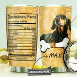 Dachshund Fact Personalized MDA1410053 Stainless Steel Tumbler