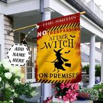 Witch Halloween Personalized DNV2909007 Flag