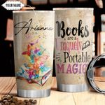 Book Lover Personalized THV1610007 Stainless Steel Tumbler