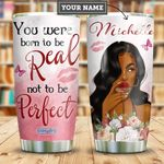 Self Love Black Women Personalized HHE2509021 Stainless Steel Tumbler