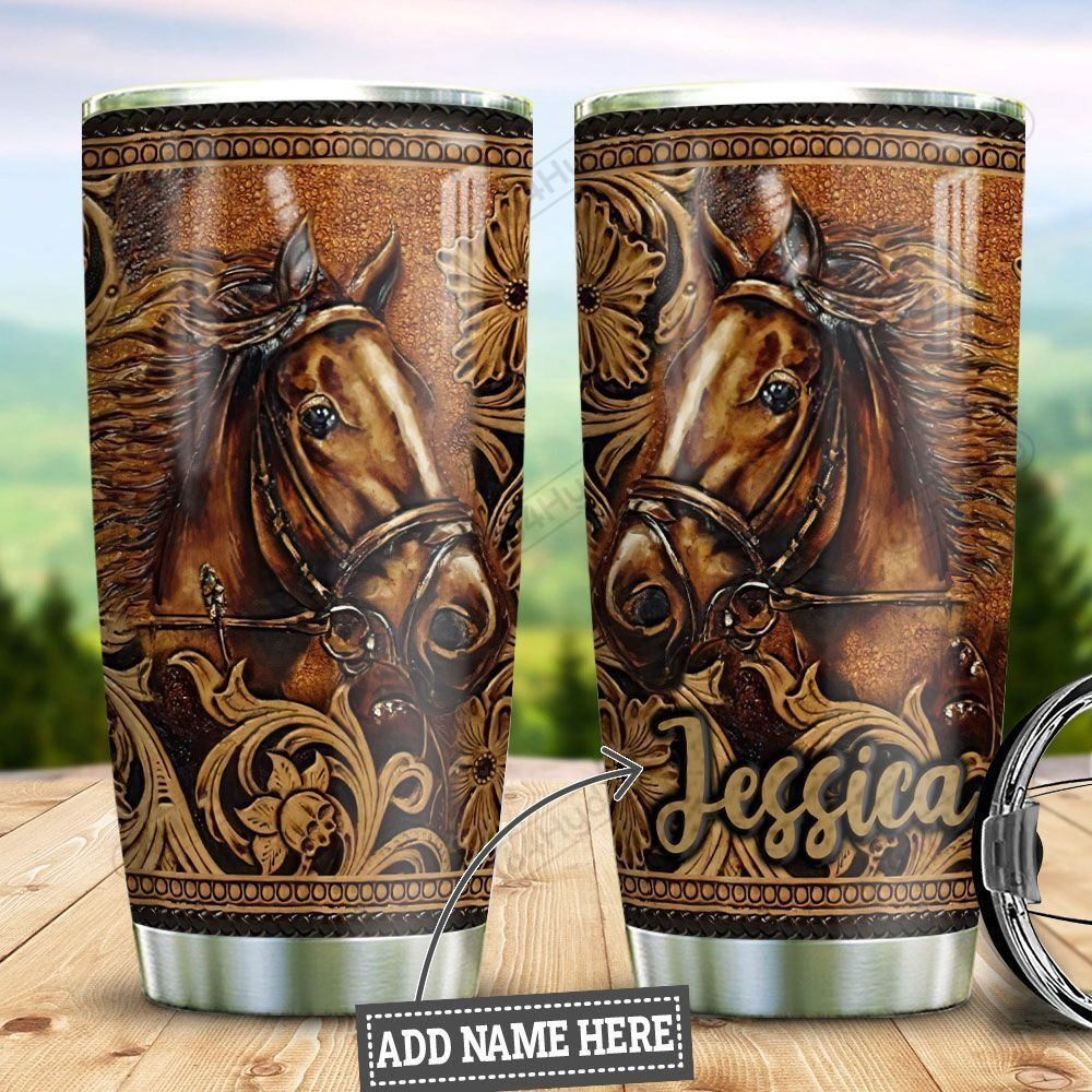 Personalized Horse HLZ1710012 Stainless Steel Tumbler