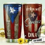 My Heart In Puerto Rico Personalized THV0710004 Stainless Steel Tumbler