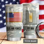 Air Force Personalized MDA0510014 Stainless Steel Tumbler