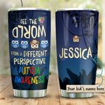 Autism Different Perspective Personalized KD2 HRM1910003 Stainless Steel Tumbler