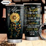 You Are My Sunshine Personalized THV1610009 Stainless Steel Tumbler