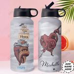 Octopus Personalized HHE0210022 Stainless Steel Bottle With Straw Lid