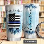 Back The Blue Personalized MDA2909030 Stainless Steel Tumbler