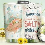Spring Whale Personalized HHE0110016 Stainless Steel Tumbler