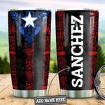Personalized Puerto Rico HLZ1710015 Stainless Steel Tumbler