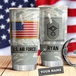 Air Force Personalized MDA0510010 Stainless Steel Tumbler