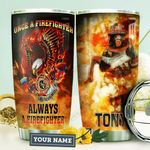 Firefighter Personalized HHA1210025 Stainless Steel Tumbler