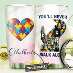 Autism Personalized DNA1210006 Stainless Steel Tumbler