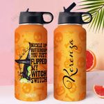Witch Personalized DHA2809008 Stainless Steel Bottle With Straw Lid