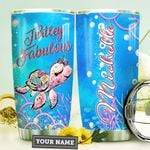 Fabulous Turtle Personalized HTR3009027 Stainless Steel Tumbler