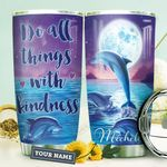 Dolphin Personalized HHA1410019 Stainless Steel Tumbler