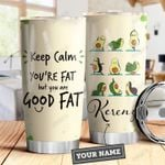 Avocado Yoga HAH0110003 Personalized Stainless Steel Tumbler