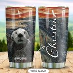 Otter Personalized MDA2509014 Stainless Steel Tumbler