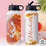 Redhead Personalized HTR2909016 Stainless Steel Bottle With Straw Lid