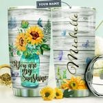 Butterfly Personalized HTR1410023 Stainless Steel Tumbler