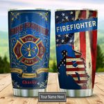 Firefighter Personalized KD2 DHL1610008 Stainless Steel Tumbler