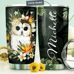 Owl Personalized HTR1210014 Stainless Steel Tumbler