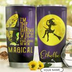 Witch Personalized DNC1710010 Stainless Steel Tumbler