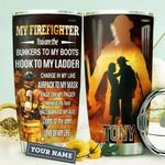 Wife Firefighter KD4 Personalized HHA1710020 Stainless Steel Tumbler