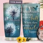 Dandelion Faith Personalized HTR1610013 Stainless Steel Tumbler