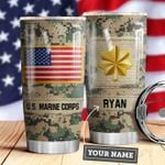 Marine Corps Personalized MDA0610035 Stainless Steel Tumbler