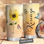 Butterfly Personalized HNY0110007 Stainless Steel Tumbler