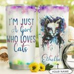 Cat Personalized DNC1710007 Stainless Steel Tumbler