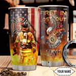 Firefighter Personalized HHA2010017 Stainless Steel Tumbler