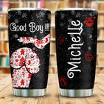 Good Boy Dog Personalized KHL1410014 Stainless Steel Tumbler
