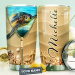 Turtle Personalized HTR1210016 Stainless Steel Tumbler