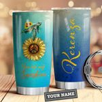 Turtle Hippie Personalized HAD0110016 Stainless Steel Tumbler