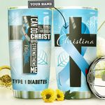 Diabetes Personalized MDA3009013 Stainless Steel Tumbler
