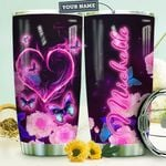 Butterfly Personalized HTR0610016 Stainless Steel Tumbler