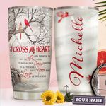 Cross Heart Personalized HHA1710012 Stainless Steel Tumbler