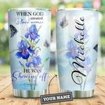 Faith Black Women Personalized HHE2409002 Stainless Steel Tumbler