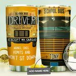 School Bus Personalized MDA1410057 Stainless Steel Tumbler