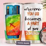 Travel Personalized HTW1510018 Stainless Steel Tumbler