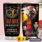 Witch Personalized HHW1510013 Stainless Steel Tumbler