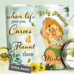 Big Girl Personalized HHE3009011 Stainless Steel Tumbler