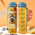 Frog Personalized HTR2008027 Water Tracker Bottle