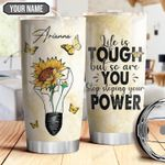 Butterfly Power Personalized THA1710026 Stainless Steel Tumbler