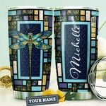 Dragonfly Personalized HTQ1210011 Stainless Steel Tumbler