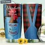 Farmer Personalized HHA1310016 Stainless Steel Tumbler